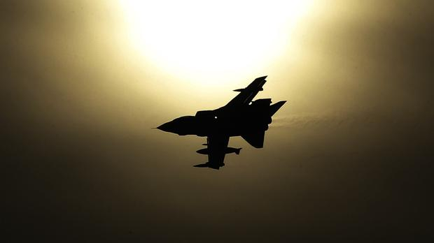 An IS site in Syria has been attacked by French war planes