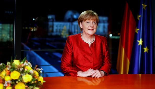 German Chancellor Angela Merkel is under pressure over her policy on refugees. Photo: AP