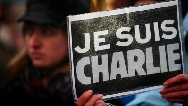 Charlie Hebdo was attacked by Islamic extremists in January of last year. Photo: PA