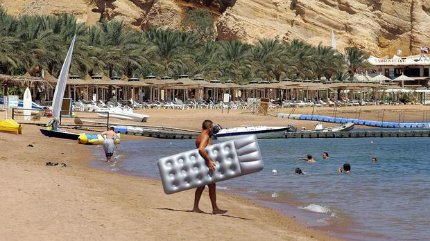 Two tourists were stabbed in a Red Sea resort