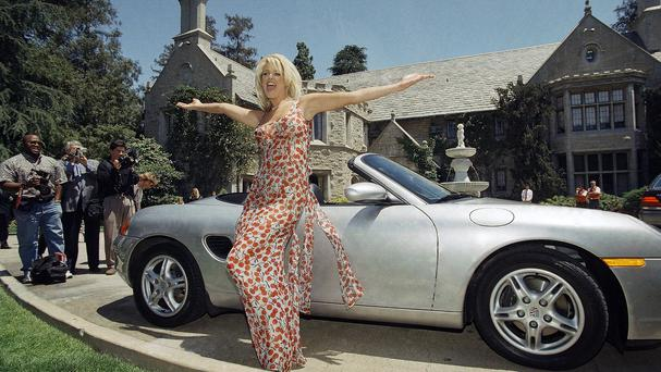 The Playboy Mansion is up for sale (AP)