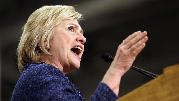 The lawsuits relate to Ms Clinton's use of a private email server when she was US secretary of state (AP)