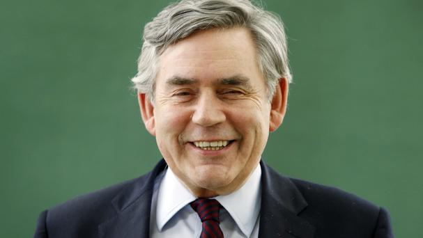 Gordon Brown pledged to try to raise the rest of the money in the next month