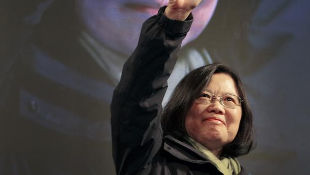 Tsai Ing-wen has become Taiwan's first woman president (AP)