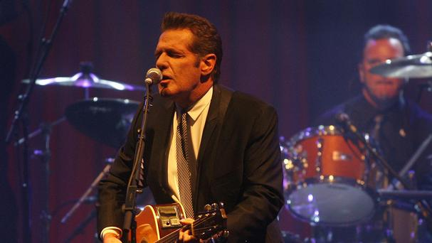 Glenn Frey, pictured playing in Arizona in 2010 - the Eagles guitarist has died aged 67 (AP)