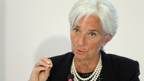 Christine Lagarde refused to say whether she will seek a second term as head of the IMF