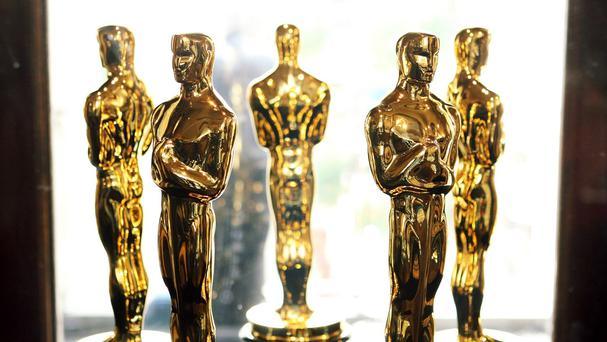 A row has broken out over the all-white shortlist for the Oscars