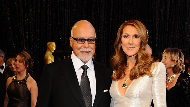 Celine Dion and Rene Angelil, who died after battling cancer