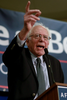 Bernie Sanders Photo: Katherine Taylor/Reuters