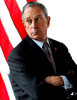 Running: Michael Bloomberg