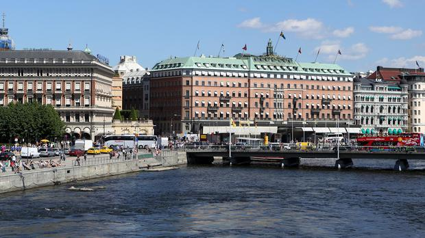 The woman was taken from her apartment in Stockholm