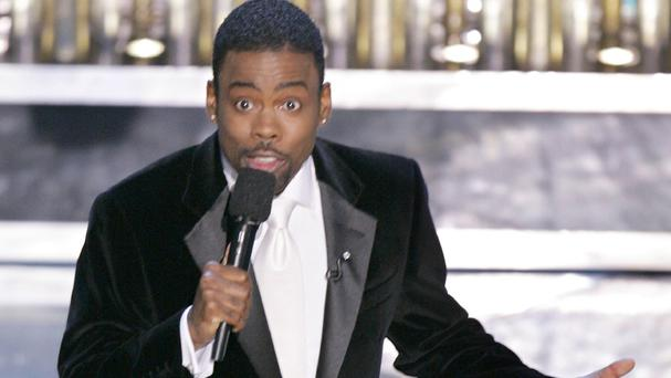 Chris Rock will host the Oscars in a year when no black actor has received a nomination. (AP)