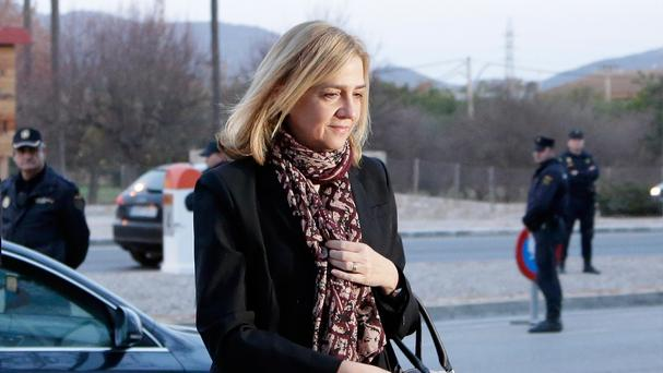 Princess Cristina is the sister of King Felipe VI