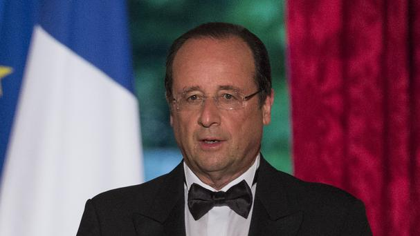 Francois Hollande exercised his right of mercy