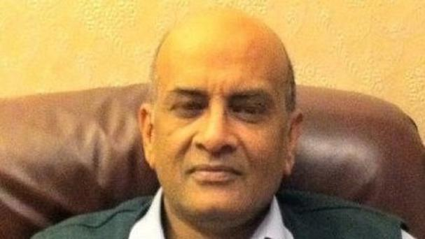 Akhtar Javeed, 56, died after being shot during an attempted robbery at a warehouse in Digbeth