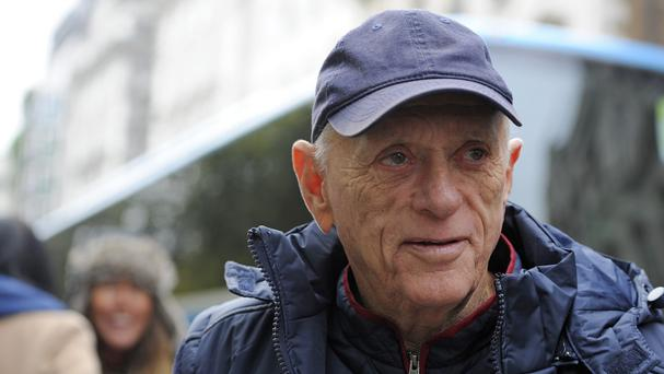 Ric O'Barry at a London protest against the Taiji dolphin culls in Japan