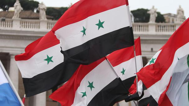 Syrian troops advanced under the cover of heavy artillery bombardment and air power