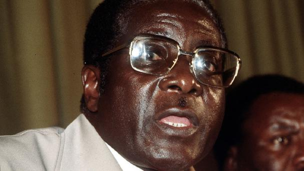 Robert Mugabe announced the state of disaster to speed the flow of aid to needy communities