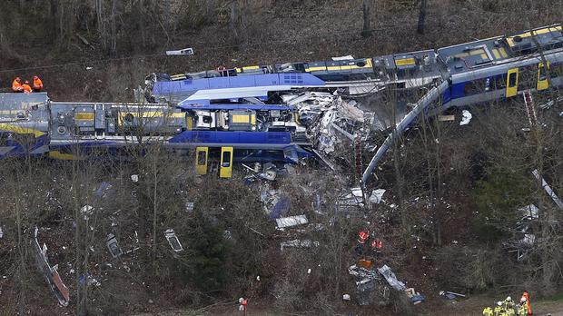 Authorities are trying to determine the cause of the crash (AP)