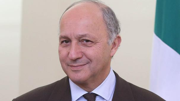 France's former minister of foreign affairs Laurent Fabius