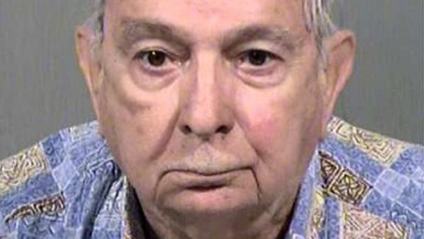 Former priest John Feit told police he heard Irene Garza's final confession (Maricopa County Sheriffs Office/AP)