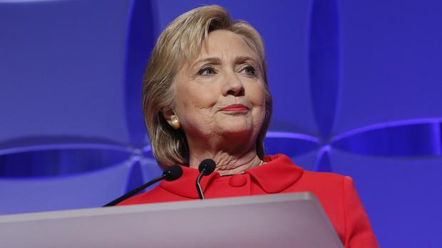 Eighty-one of Hillary Clinton's latest messages were classified (AP)