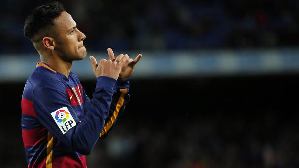 Neymar's transfer from Santos to Barcelona has prompted a legal battle (AP)