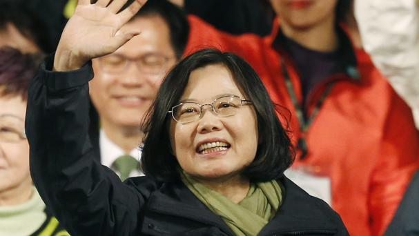Taiwan's president-elect Tsai Ing-wen issued a call for calm (AP)