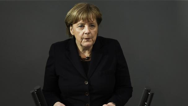 Angela Merkel has said she wants Britain to remain an 'active member' of the European Union (AP)
