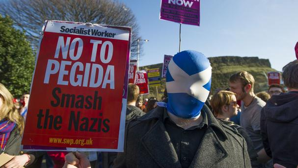 The formation of Pegida spawned a number of protests across Europe