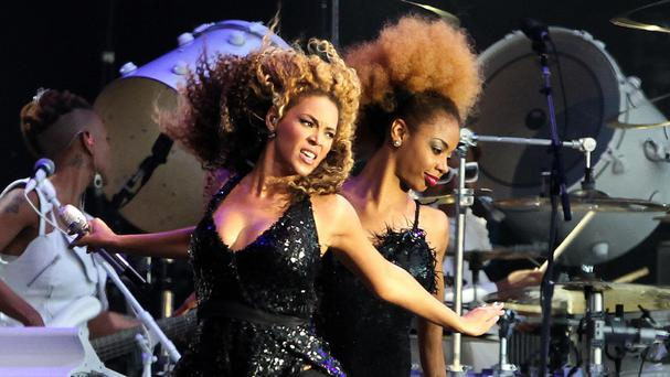 Beyonce begins her tour in Miami in April