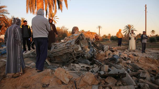 Two Serbian hostages were amongst those killed in US air strikes on an Islamic State camp in western Libya (AP)
