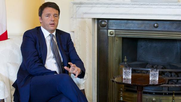 Matteo Renzi may force a confidence vote to get the bill through