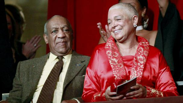 Bill Cosby and his wife Camille (AP)