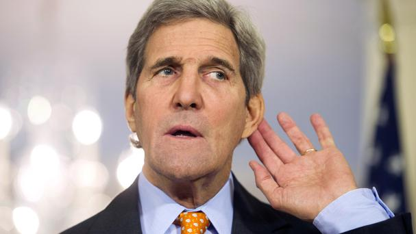 John Kerry was central to the negotiations between the US and Russia (AP)