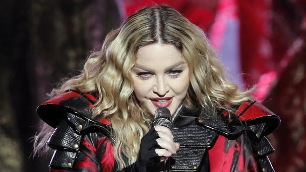 US singer Madonna performs during the Rebel Heart world tour in Macau (AP)