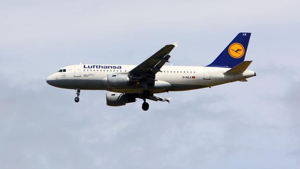 A Lufthansa jet was on approach to Warsaw when it almost collided with the drone last July