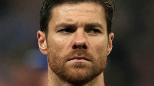 Xabi Alonso has denied any wrongdoing
