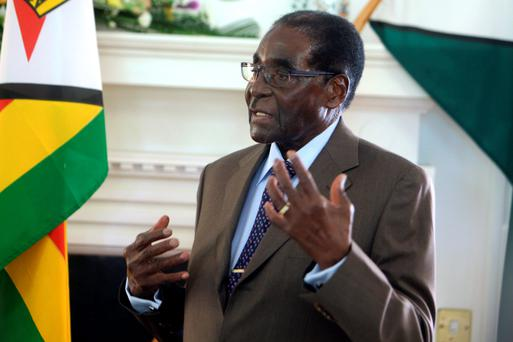 AILING: Robert Mugabe. Photo: AP
