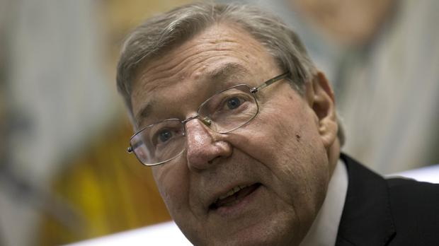 Cardinal George Pell has been giving evidence (AP)