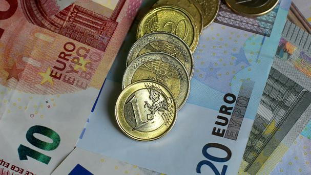 Inflation across the eurozone turned negative in February