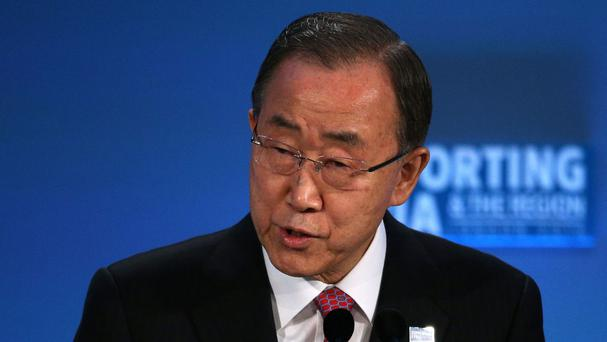 Ban Ki-moon released a report detailing 69 allegations of abuse from 2015