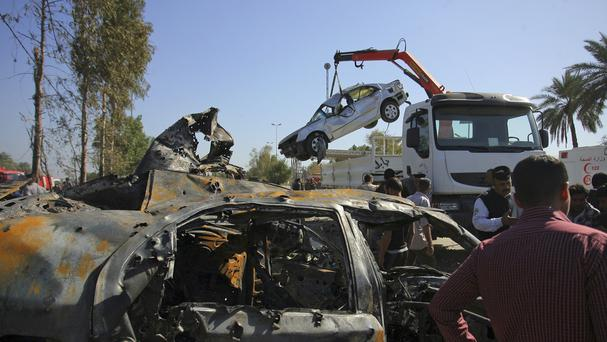 At least 47 people have died in a truck blast in Iraq