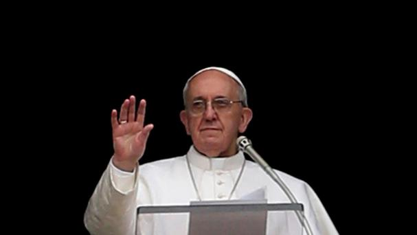 Pope Francis welcomed efforts to host refugees