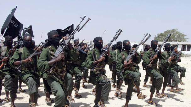 The strike hit an al-Shabaab training camp in Somalia (AP)