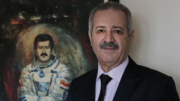 Mohammed Faris was Syria's first cosmonaut (AP)