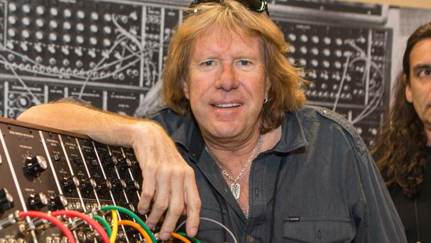Keith Emerson's body was found on Friday by his long-time partner (AP)