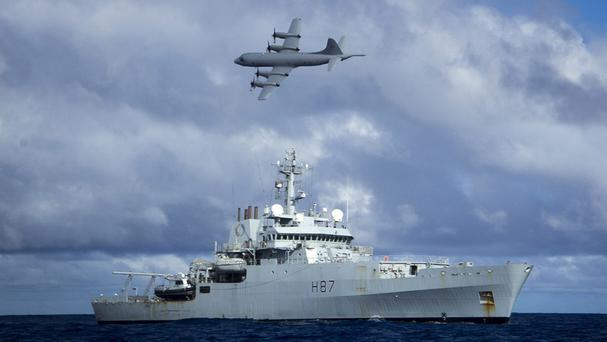 The search for missing Malaysia Airlines Flight 370