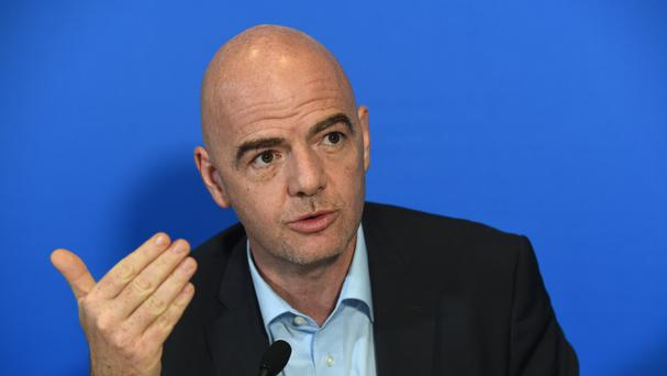 New Fifa President Gianni Infantino is seeking to distance himself from past corruptions at the governing body