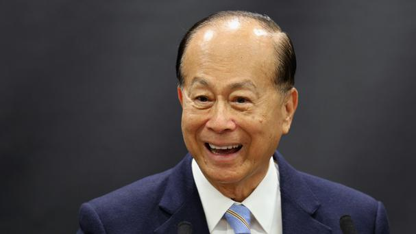 Businessman Li Ka Shing has many investments in the United Kingdom